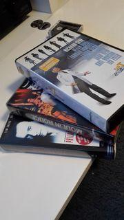 3 verschiedene Vidokassetten VHS