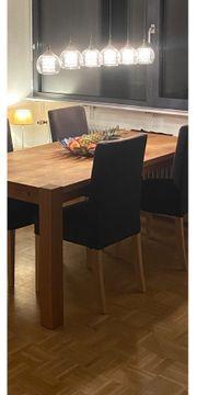 4 Stühle IKEA Henriksdal Gestell