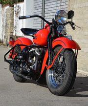 Harley Davidson WL 1947