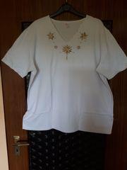 T-Shirt Gr 48 50 weiß