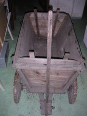 70 Jahre alter Leiterwagen