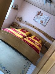 Schlafzimmer Birke teilmassiv