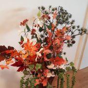 Herbst Deko Blumen