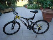Mountainbike schwarz gelb