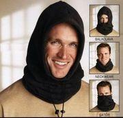 Kopftuch mit Schal