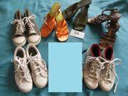 Schuhe Gr 36 Sandalen Sneaker