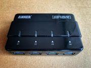 Robustes 4-Port USB3 0-Hub mit