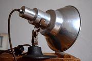 Schreibtischlampe Antik Architektenlampe Werkstattlampe Vintage