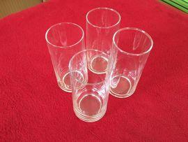 4 Gläser / Trinkgläser