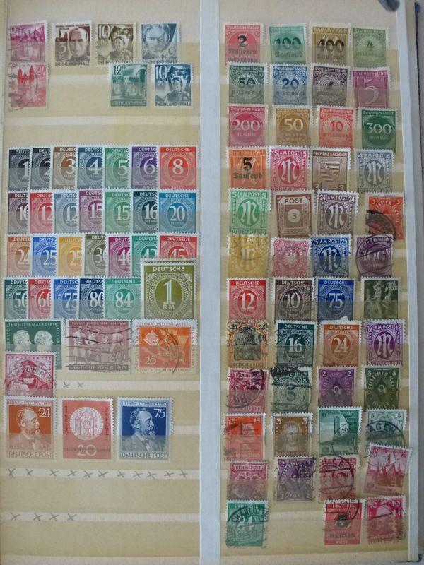 Bayern Dt Reich Viele Postfrisch