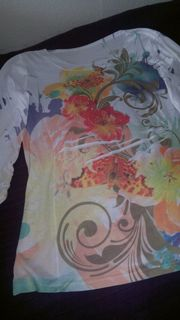 Hübsches Shirt mit modischen Floraldruck