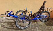 Tadpole Liegerad Trike Craxxbikes