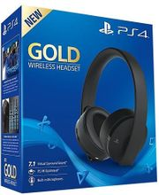 ps4 gold headset limited edition