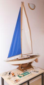 Graupner Segelboot Optimist Robbe Segelwinde