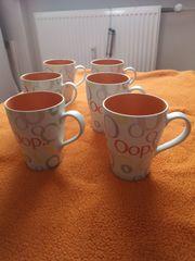 6 Kaffeetassen