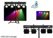Musik- und Lichtanlage mieten für