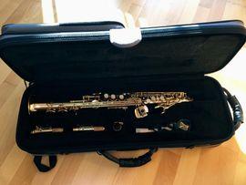 Bild 4 - Jupiter Sopransaxophon sehr gut erhalten - - Flonheim