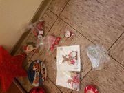 Weihnachtsdeko nur im Komplettpaket zu