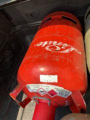 Propangasflasche 11 Kilo leer ROT