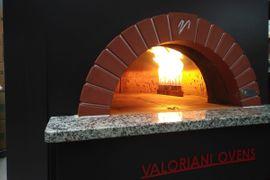 Gastronomie, Ladeneinrichtung - Profi Pizzaofen Gas Valoriani gebraucht