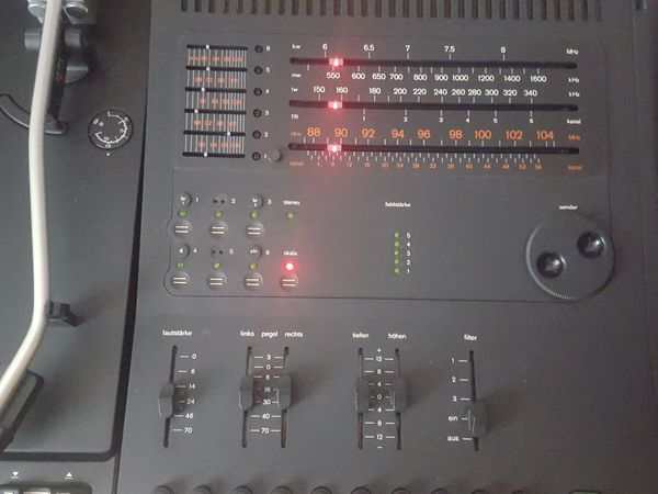 BRAUN audio system P 4000