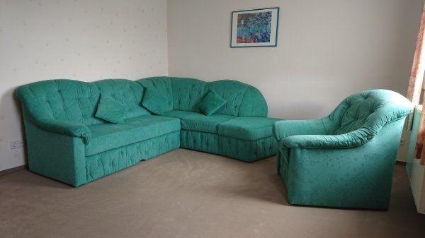 Couch Eckcouch Schlafcouch ausklappbar