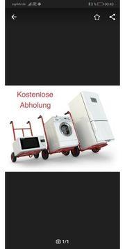 kostenlose Abholung Waschmaschine-Kühlschrank-herd-spülmaschine