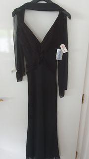 Schwarzes Kleid Ballkleid Abendkleid