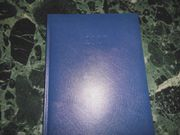 Buchkalender in Dunkelblau Format A5