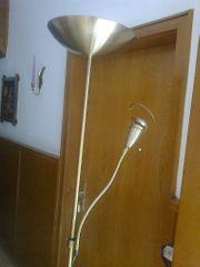 Stehlampe mit Dimmer und Leselampe
