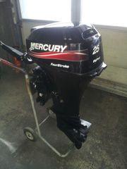 Langschaftaußenborder Mercury Außenborder 25 PS