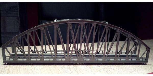 H0 Bogenbrücke K M Gleis
