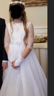 Komunion Kleid mit Accessoires Gr