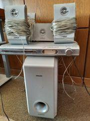 Musikanlage philips mit Boxen stereoanlage