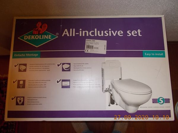 WC Vorwand-Montageelement komplett
