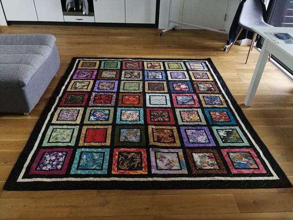 Decke - Amish Quilt Orginal Handmade
