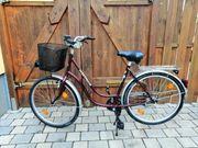 Westfalia Damen-Fahrrad rot 26 Zoll