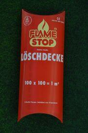Verkaufe Löschdecke Flame Stop Swiss