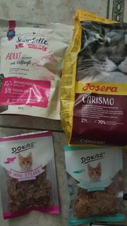 Katzenfutter Paket