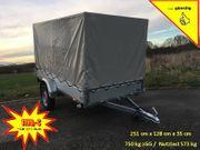 STEMA 750 kg Anhänger 251cm