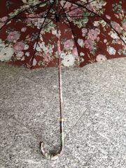 Regenschirm mit Blumen Deluxe