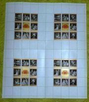 Briefmarken Österreich Staatsoper 4fach 9er