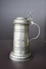 Zinn Krug Frieling mit 1777