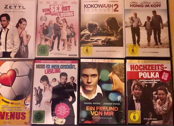 DVD Film Paket