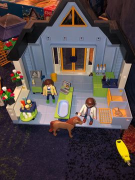 Spielzeug: Lego, Playmobil - Playmobil Tierpraxis