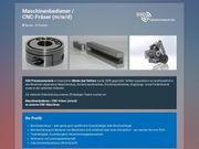 Maschinenbediener CNC-Fräser m w d