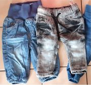 2 Jeans Hosen Gr 62