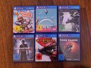 Playstation 4 Spiele Auch einzel