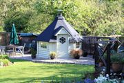 Grillhütte Grillkota Gartenhaus 7m² Grillanlage