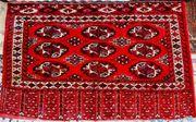 Sammlerteppich Jomud Nomaden-Tasche antik T005